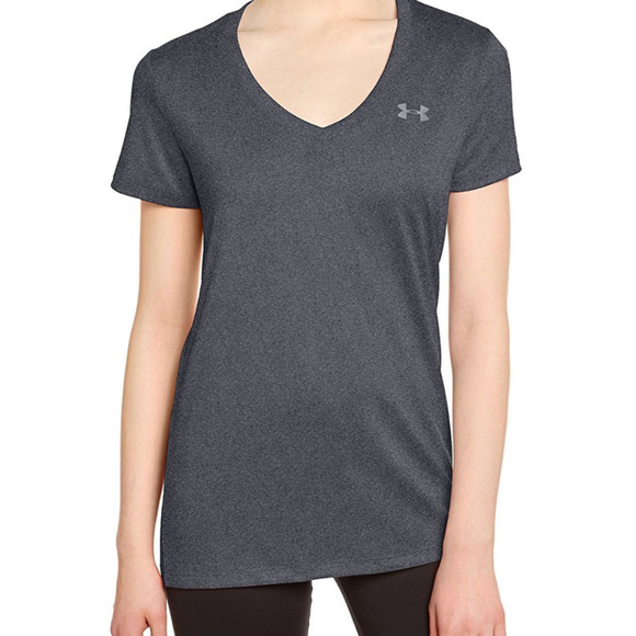 76b97d41 Under Armour Womens V Neck Tee - L NWT